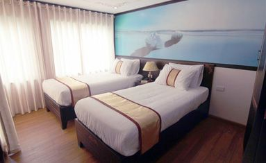 Huong Hai Sealife Cruise's Suite Cabin