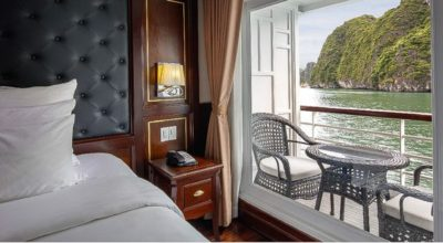 Paradise Elegance Cruise's Deluxe Balcony Cabin