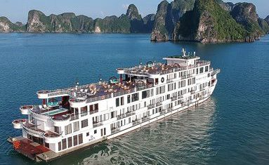 President Cruise in Halong bay