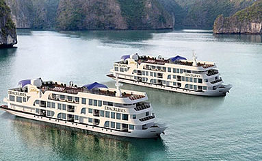 Era Cruise in Halong bay, Vietnam